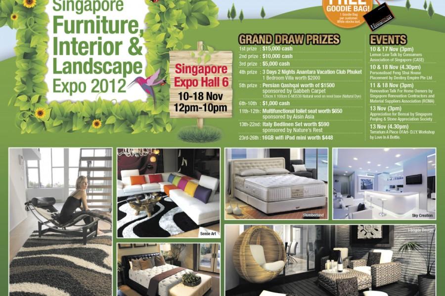 Singapore Furniture, Interior & Landscape Expo 2012